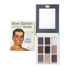 theBalm MEET MATT(E) NUDE eyeshadow palette